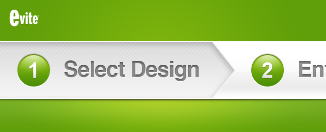 Evite.com - Redesign