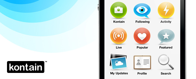 Kontain iPhone App