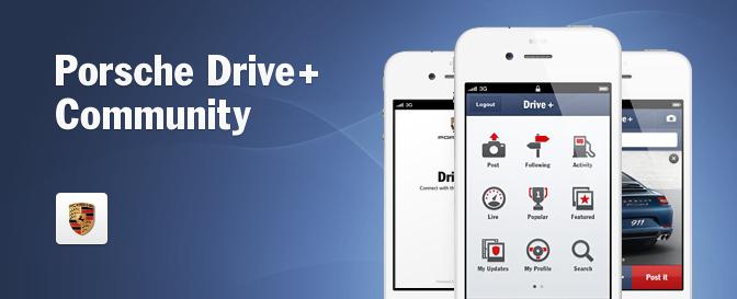 Porsche Drive+ Community